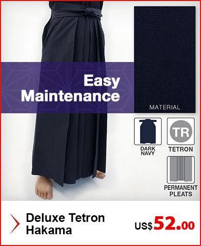 Deluxe Tetron Kendo / Iaido Hakama