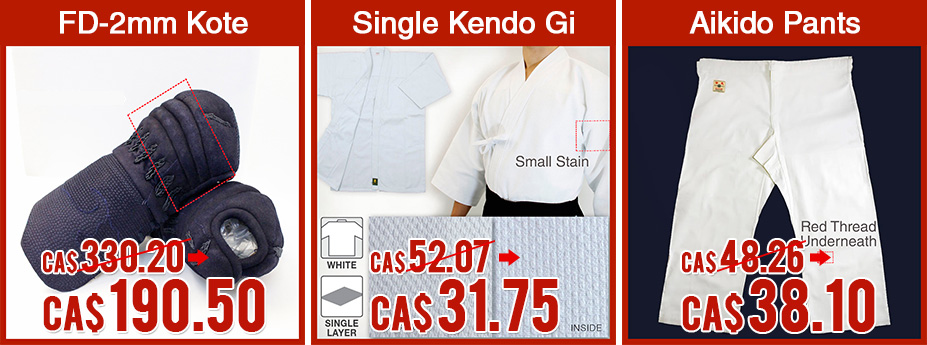 FD-2mm Kote/Single Kendo Gi/Aikido Gi